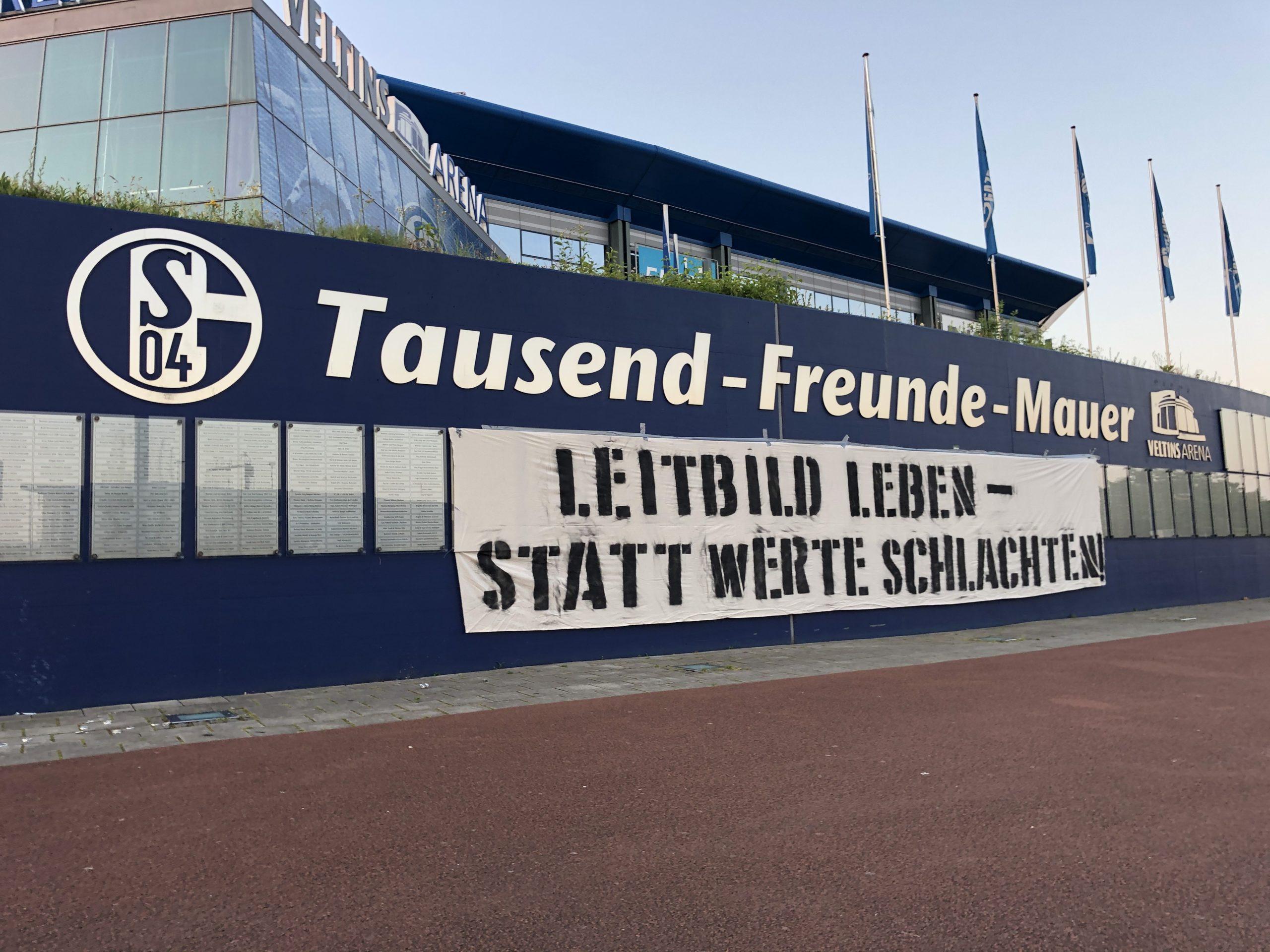 Auf Schalke wird der e.V. zur Schlachtbank geführt, wir stellen uns dagegen.